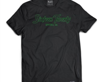 Sixteen Twenty Apparel Co. - Black T-SHIRT