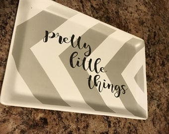 pretty little things jewelry tray