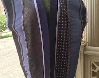 Handmade purple jacket