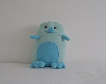 Unique Cute Blue Penguin Hand-made Toy/Stuffed Doll Soft/Children's Gift