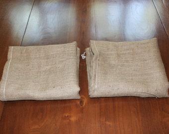 Burlapper burlap potato sack race bags (2 bags - 24 inch x 40 inch)