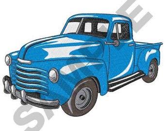 Classic Truck - Machine Embroidery Design