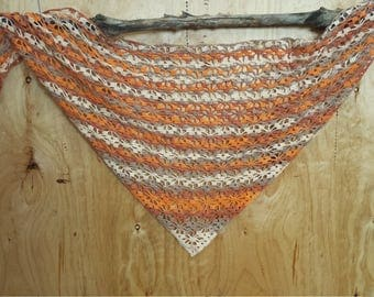 Shawl crochet, summer shawl, cotton shawl