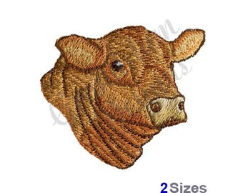 Angus Head - Machine Embroidery Design