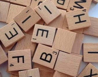 Pick n Mix Scrabble Tiles A-Z and Blanks - Multiples of 5
