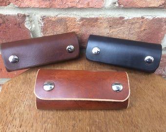 Personalised Handmade Leather key holder