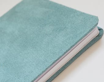 Light blue soft book