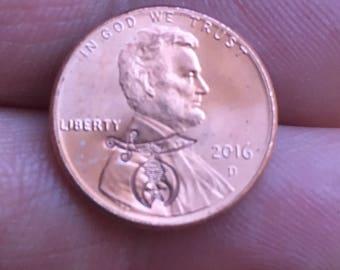 Masonic/Shriner stamped penny
