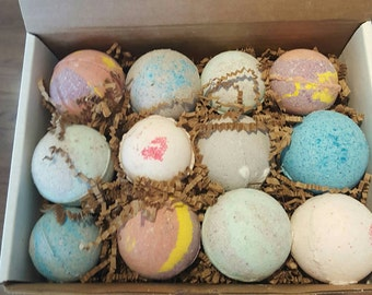 Supernatural 12 Assorted Bath Bombs - updated!