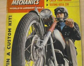 Two 1968 vintage,motorcycle scooter & three wheeler mechanics magazines