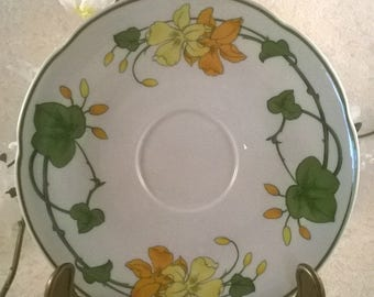 Saucer, Cup, for the series by Villeroy & Boch geranium