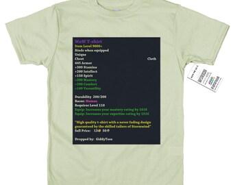 WoW T shirt Design, world of warcraft