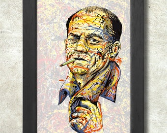 Jackson Pollock Poster Print A3+ 13 x 19 in - 33 x 48 cm  Buy 2 get 1 FREE