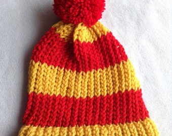 Gryiffindor Knitted Beanie Hat
