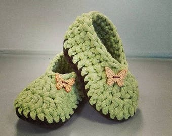 Crochet Baby Shoes 2