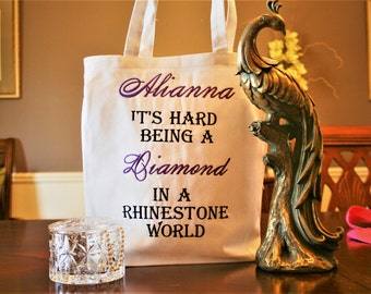 Personalized Large Tote Bag!