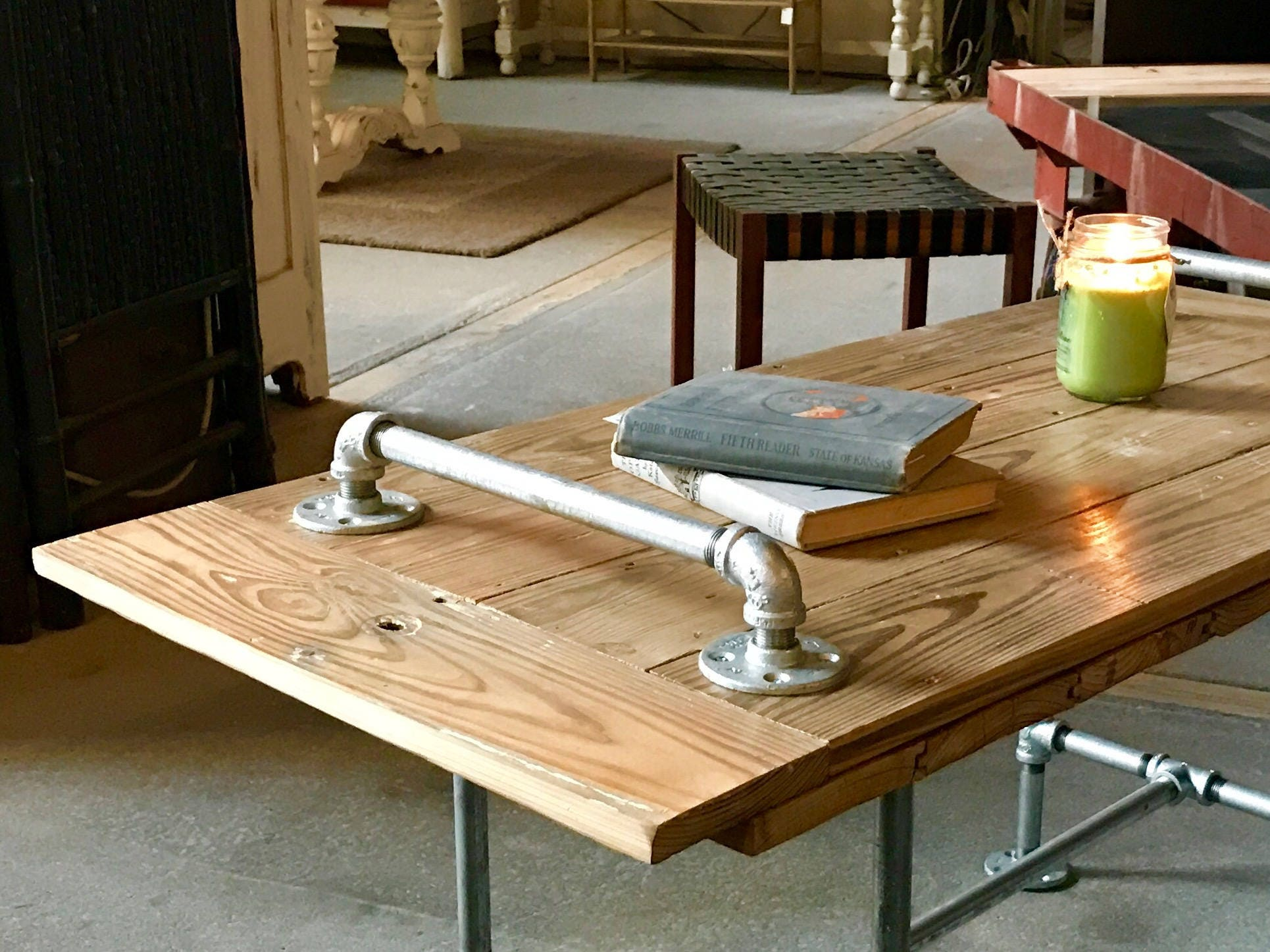Industrial Barn Wood Cedar Coffee Table