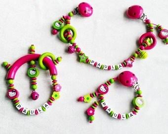 Set pram chain Tutana ♥ Hello Kitty