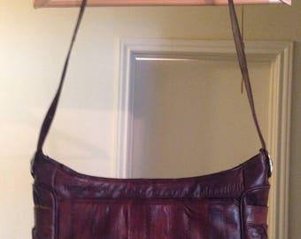 SALE!! Exotic eel skin purse