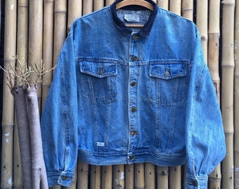 90s Marithe Francois Girbaud Denim Jacket