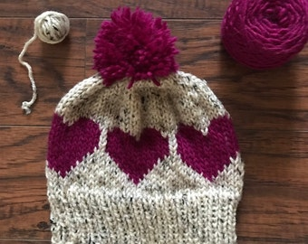 Kids Heart Hat