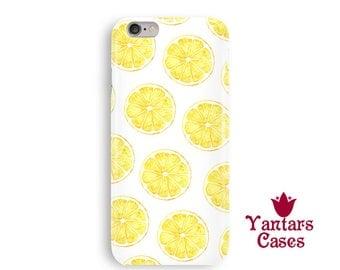 Lemon iPhone 8 case citrus iphone 6 case fruit iphone 7 case lemon iphone 6s case lemon iPhone 5 case iPhone 6s case iPhone 6 Plus case