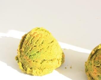 Ball cream foaming Fruit Loops / Ice Cream Foaming Fruit Loops Ball