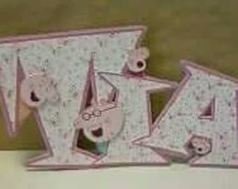 Handmade personalised cards - Any occasion