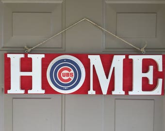 Chicago Cubs, Chicago Cubs Gifts, Chicago Cubs Signs, Chicago Cubs Decor, Chicago Cubs Fans