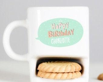 Personalised Cookie Mug