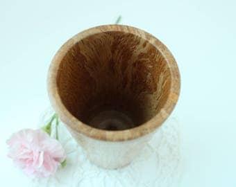 Handturned Oak Vase