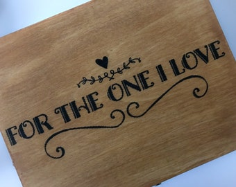 For The One I Love - Romantic Gift Box