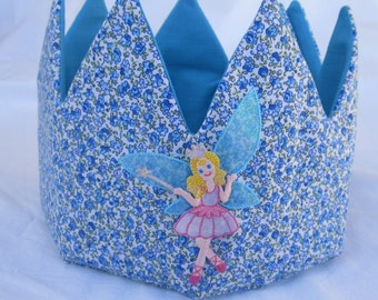 fabric crown, birthday, birthday party, birthday gift
