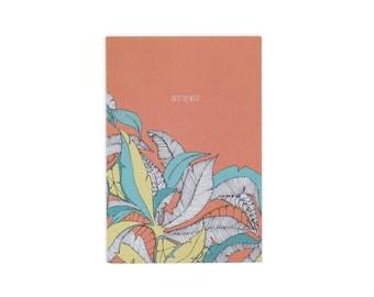 Into The Wild orange A6 Notebook