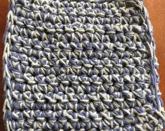 Thick crochet pot holder