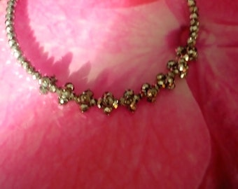 necklace of pyrite