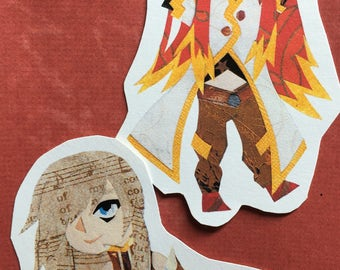 Tales of the Abyss: Sticker Set