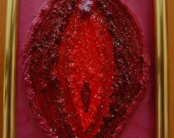 Glitter vulva