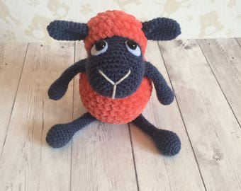Crochet amigurumi plush Sheep toy - crochet lamb toy, stuffed sheep, animal sheep toy, sheep, crochet plush toys, soft sheep, lamb