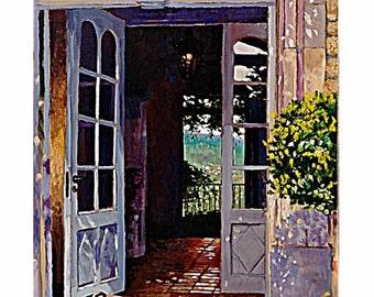 Provencal Doorway
