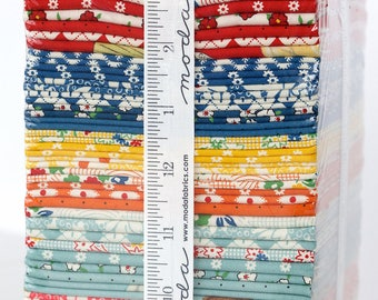 Hop, Skip and a Jump! Fat Quarter Bundle by American Jane, for Moda Fabrics