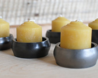Votive Candle Holder, Forged Candle Holder, Metal Candle Holder, Candle Cups