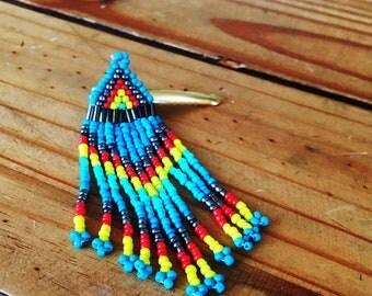 Beautiful beaded hair pin!