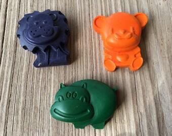 Animal Crayons- set of 12