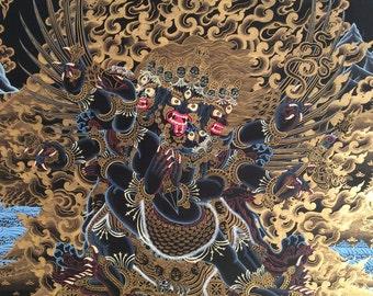 Buddhist Vajrakilaya Thangka
