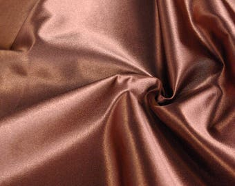 Chocolate Brown Satin