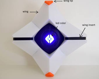 Large Destiny Ghost Generalist Shell with LED