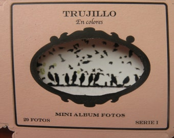 Mini Photo Album adhesive Trujillo in colors