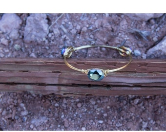 Mermaid Stone Bangle