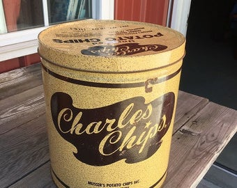 SALE: Charles Chips Tin